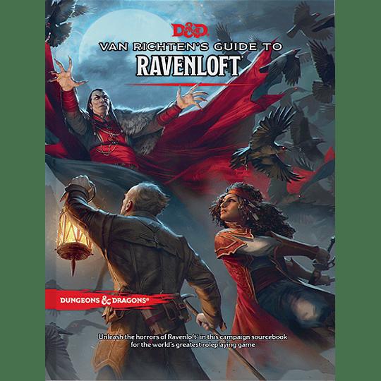 Dungeons & Dragons: Van Richten's Guide to Ravenloft (Inglés)