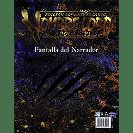 Hombre Lobo 20 Aniversario: El Apocalipsis - Pantalla del Narrador