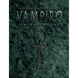 Vampiro La Mascarada 20° Aniversario Edición de Bolsillo