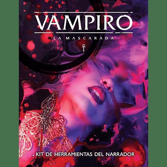 Vampiro La Mascarada 5ta Edición - Pantalla del DJ