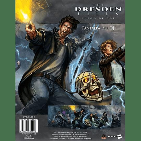 The Dresden Files - Pantalla del DJ