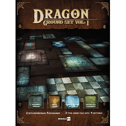 Dragon Gound Set Vol.1 - Escenografia