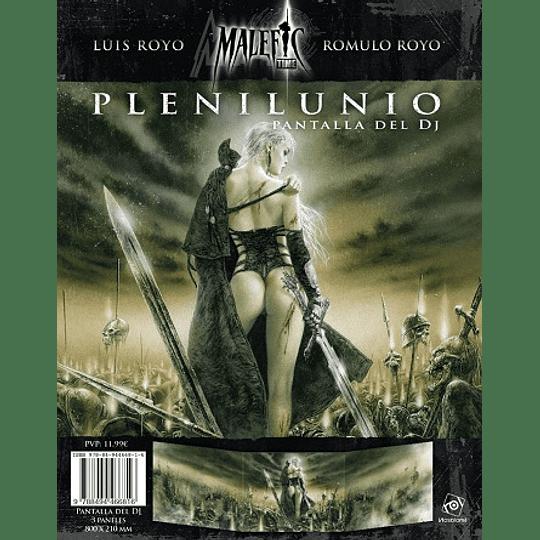 Plenilunio - Pantalla del DJ