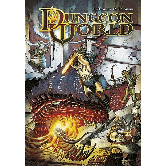 Dungeon World (ConBarba)(Español)