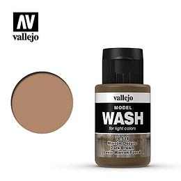 Model Wash: Marrón Oscuro - Dark Brown (35ml)