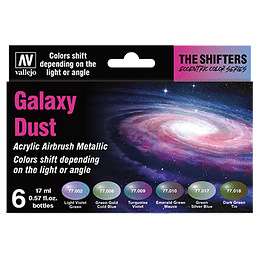 The Shifters Set: Galaxy Dust