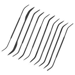 Set de 10 Limas Curvadas