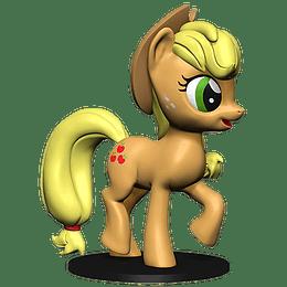 My Little Pony: Apple Jack - Deep Cuts Unpainted Minis (Para pintar)