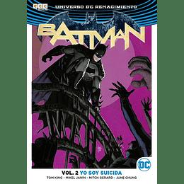 Batman Renacimiento Vol 02: Yo Soy Suicida
