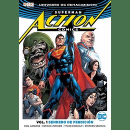 Superman Action Comics Vol.01: Sendero de Perdición