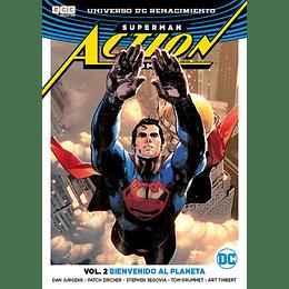 Superman Action Comics Vol.02: Bienvenido al Planeta