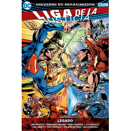 Liga de la Justicia Renacimiento Vol.04: Legado