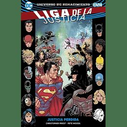 Liga de la Justicia Renacimiento Vol.05: Justicia Perdida