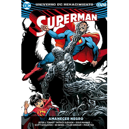 Superman Renacimiento Vol.4: Amanecer Negro