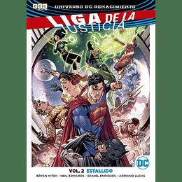 Liga de la Justicia Renacimiento Vol.02: Estallido