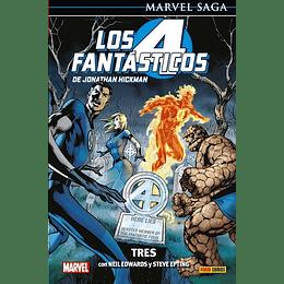 Los 4 fantásticos N°3: Tres - Marvel Saga