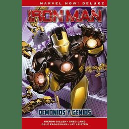 Iron Man de Kieron Gillen N°1: Demonios y Genios - Marvel Deluxe
