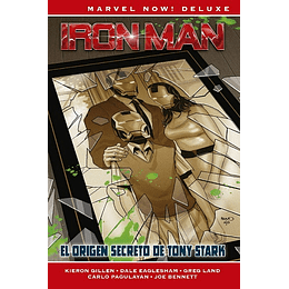 Iron Man de Kieron Gillen N°2: El Origen Secreto de Tony Stark - Marvel Deluxe