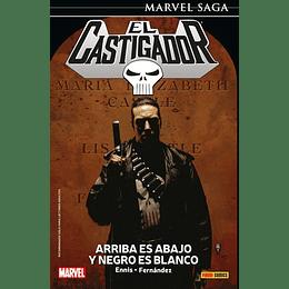 El Castigador - The Punisher N°05: Arriba es Abajo y Negro es Blanco - Marvel Saga