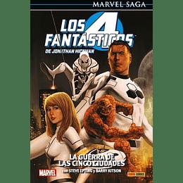 Los 4 fantásticos N°4: La Guerra de las Cinco Ciudades - Marvel Saga