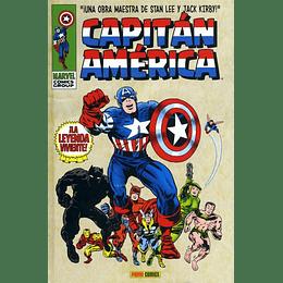Capitán América: La Leyenda Viviente 1 de 6 - Marvel Gold