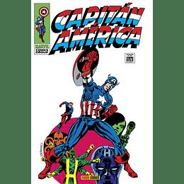 Capitán América: El Hombre Bajo la Mascara 2 de 6 - Marvel Gold