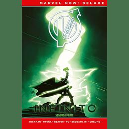 Los Vengadores de J. Hickman N°4: Infinito (Segunda Parte) - Marvel Deluxe