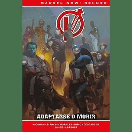 Los Vengadores de J. Hickman N°5: Adaptarse o Morir - Marvel Deluxe