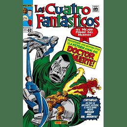 Los Cuatro Fantásticos: La Batalla del Edificio Baxter 2 de 9 - Marvel Gold