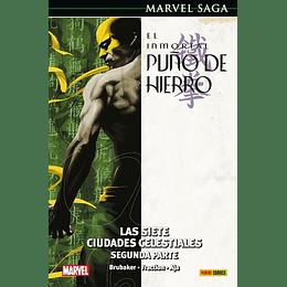 El Inmortal Puño de Hierro N°3: Las Siete Ciudades Celestiales (Segunda Parte) - Marvel Saga