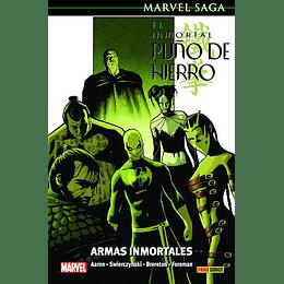 El Inmortal Puño de Hierro N°6: Armas Inmortales - Marvel Saga
