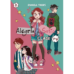 Alegría y Sofía Clase 7B 2 (Rústica)