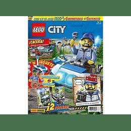 Pack Revista - Lego City N°1 al N°4 y N°9