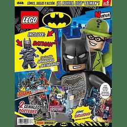 Revista - Lego DC Batman N°6