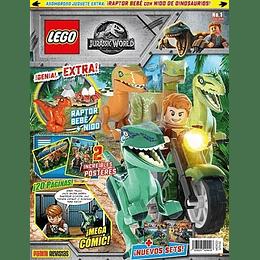 Revista - Lego Jurassic World N°1