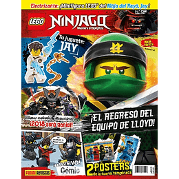 Revista - Lego Ninjago N°2
