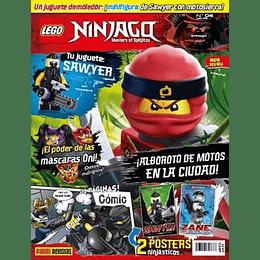 Revista - Lego Ninjago N°4