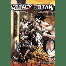 Attack on Titan Vol.08