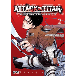 Attack on Titan: Sin Remordimientos Vol.02