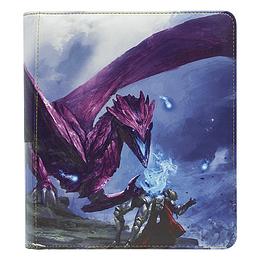 Carpeta Archivador Dragon Shield Zipster Small - Purple Amifist