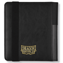 Carpeta Dragon Shield 2 bolsillos Negra