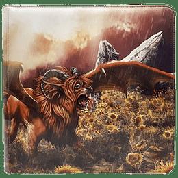 Carpeta Dragon Shield 12 bolsillos Tangerine - Dyrkottr Adult