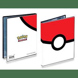 Carpeta Portafolio Ultra-Pro 4 bolsillos Pokemon: Pokeball