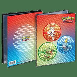 Carpeta Portafolio Ultra-Pro 4 bolsillos Pokemon: Galar Starters