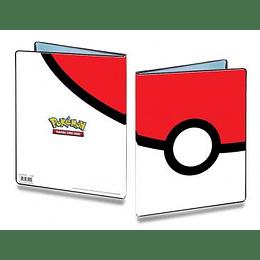 Carpeta Portafolio Ultra-Pro 9 bolsillos Pokemon: Pokeball