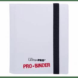 Carpeta Ultra-Pro 2 bolsillos Blanca