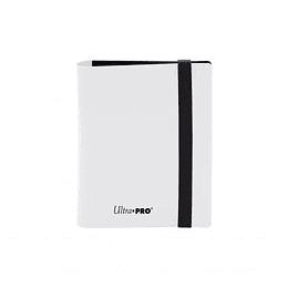 Carpeta Ultra-Pro 2 bolsillos Eclipse - Blanco Artico