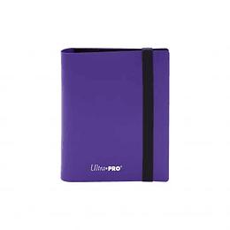 Carpeta Ultra-Pro 2 bolsillos Eclipse - Púrpura Real - Royal Purple