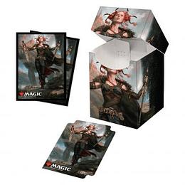 Combo Porta Mazo 100+ mas Protectores (100) - Commander Legends: Jeska, Thrice Reborn