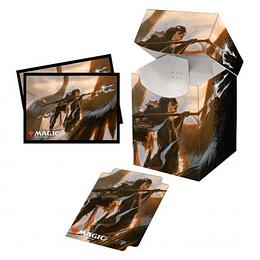 Combo Porta Mazo 100+ mas Protectores (100) - Commander Legends: Liesa, Shroud of Dusk